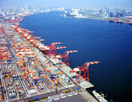 Port of Tokyo Containerized Terminal